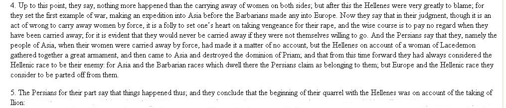 Herodotus on Persian war