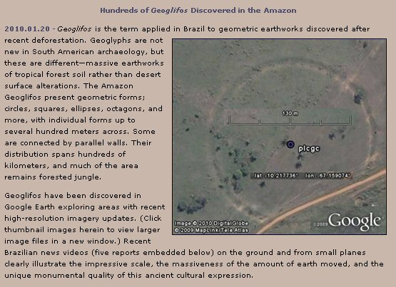 geoglyphs of the amazon