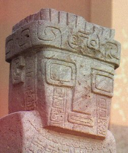 Tiwanaku indian headdress