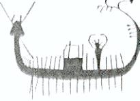reed ship drawing Egypt