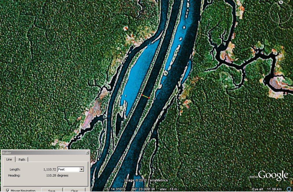 Natural Levee Built up Natural Levees